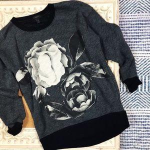 J. Crew | Rose Crewneck Sweatshirt